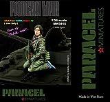 パラセルミニチュア 1/35 シリア政府軍/自由シリア軍 AFV跨乗兵10 女性兵士 レジンキット MW3516