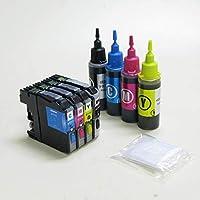 ブラザー LC111 詰め替えインク スターターセット 4色 (ZB111KT4)ゼクーカラー
