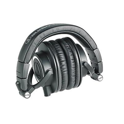 audio-technica オーディオテクニカ プロフェッショナルモニターヘッドホン ATH-M50x ブラック スタジオレコーディング / ミキシング / DJ /トラックメイキング