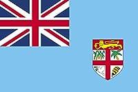 テトロン製 フィジー諸島 国旗(M判・34×50cm)