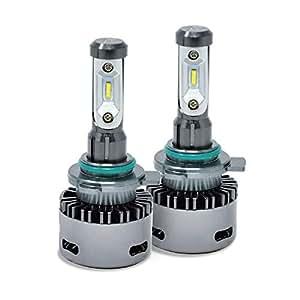 fcl. 2019年モデル 新LEDヘッドライト ファン付きモデル HIR2 2個セット ハロゲン
