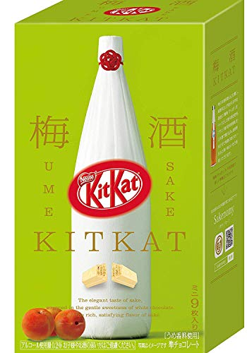 ネスレ日本 キットカット ミニ 梅酒 鶴梅 9枚 × 2箱 kitkat