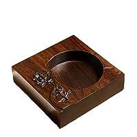 ホーム 灰皿ホームクリエイティブリビングルームの装飾木材シンプルメンズホーム 収納ボックス (サイズ さいず : A)