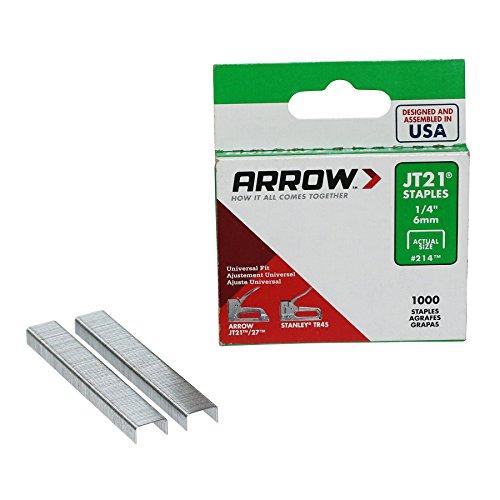 ARROW ハンドタッカー イージーショット 替針 6mm 214 1個(1000本)