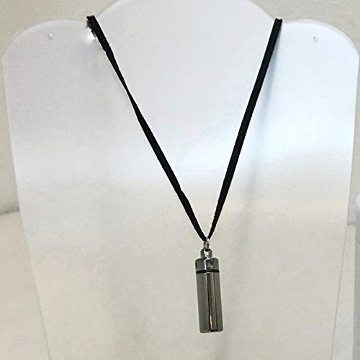 磁器クラウド杖鳥取大学発ベンチャー企業開発商品 リ?ブレインアロマペンダント チタン製 ひもブラック