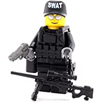 LEGO レゴ カスタム パーツ アーミー 装備品 武器 SWAT(スワット)狙撃手 ミニフィギュア [並行輸入品]