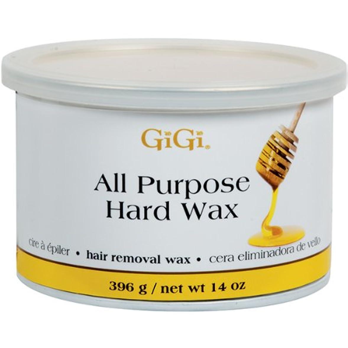 許す美容師宿泊施設GiGi 、14オンス すべての目的のハードワックス