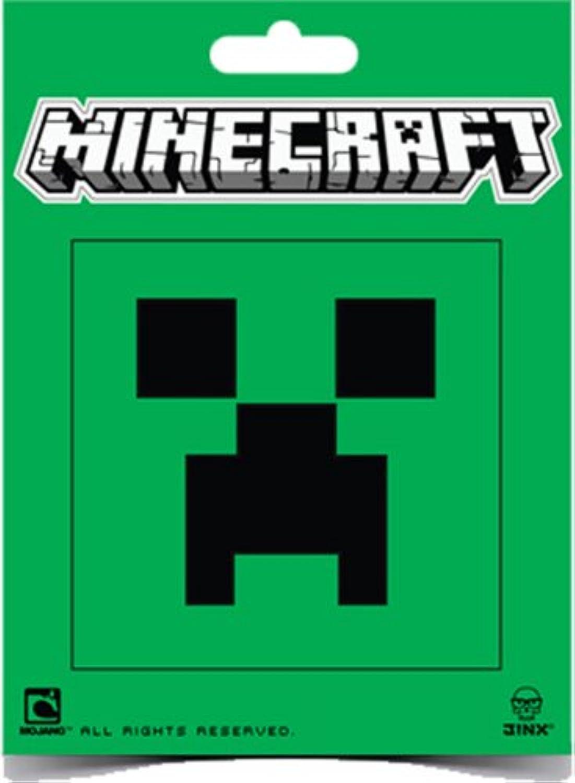 Minecraft ステッカー/クリーパーフェイス