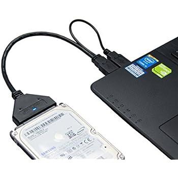 Cyberplugs SATA-USB 3.0 変換アダプタ 2.5インチ HDD SSD など 専用 アクセスランプ追加 25cm