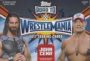 [해외]2017 Topps WWE Road To Wrestlemania Wrestling Blaster 상자/2017 Topps WWE Road To Wrestlemania Wrestling Blaster Box
