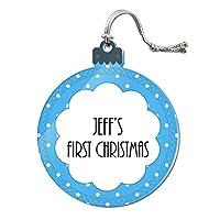 ジェフ - Baby初クリスマス - アクリルオーナメント