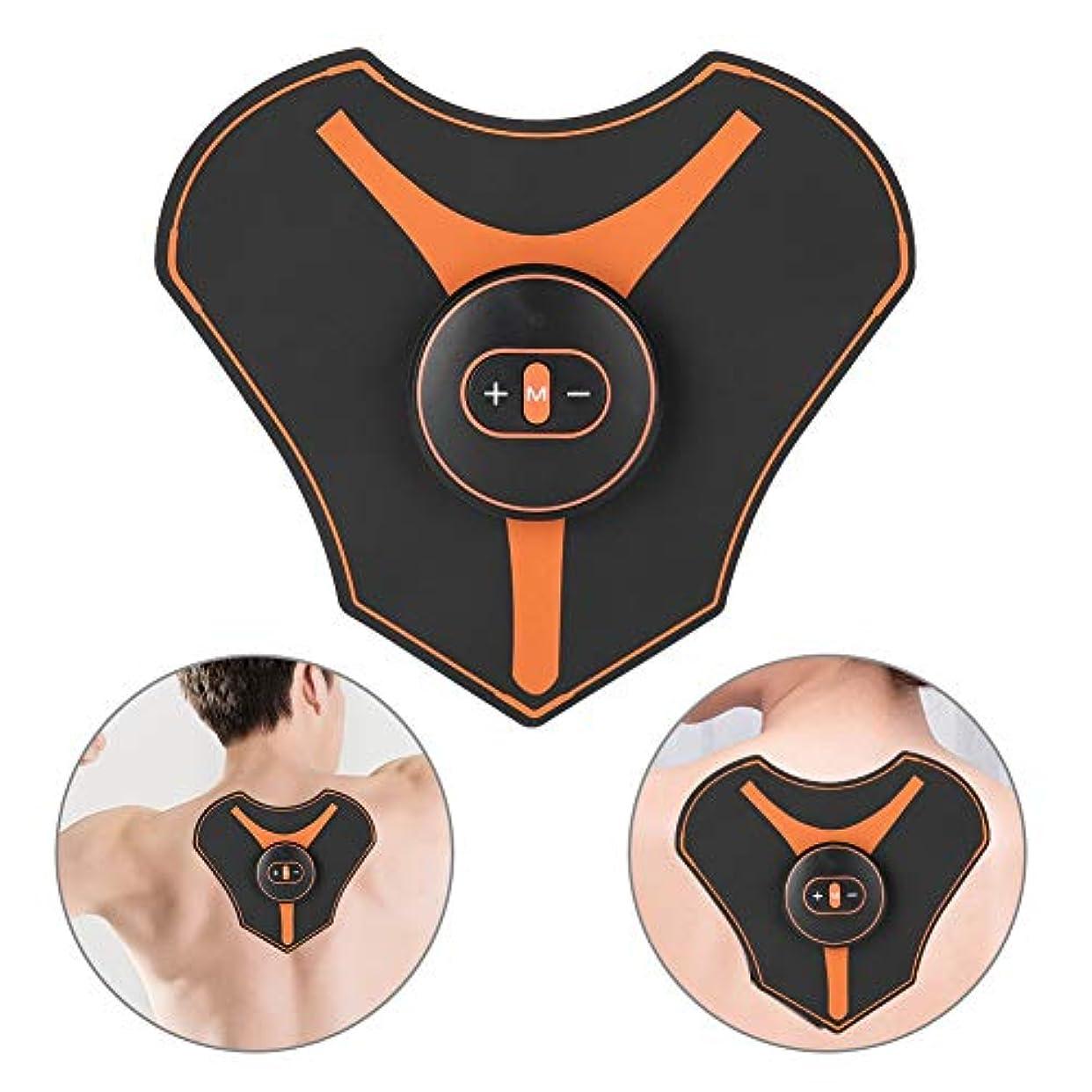 君主制合金大頸部マッサージパッド、ミニ頸部マッサージャー多機能ショルダーネックマッサージパッド頸椎は、肩、背中、足、足、体の筋肉痛のためにリラックスします