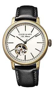 [シチズン]CITIZEN 機械式腕時計 CLUB LA MER クラブ・ラ・メール 35th Anniversary Limited model 経年変化を愉しむ時計 シースルーバック BJ7-077-30 レディース