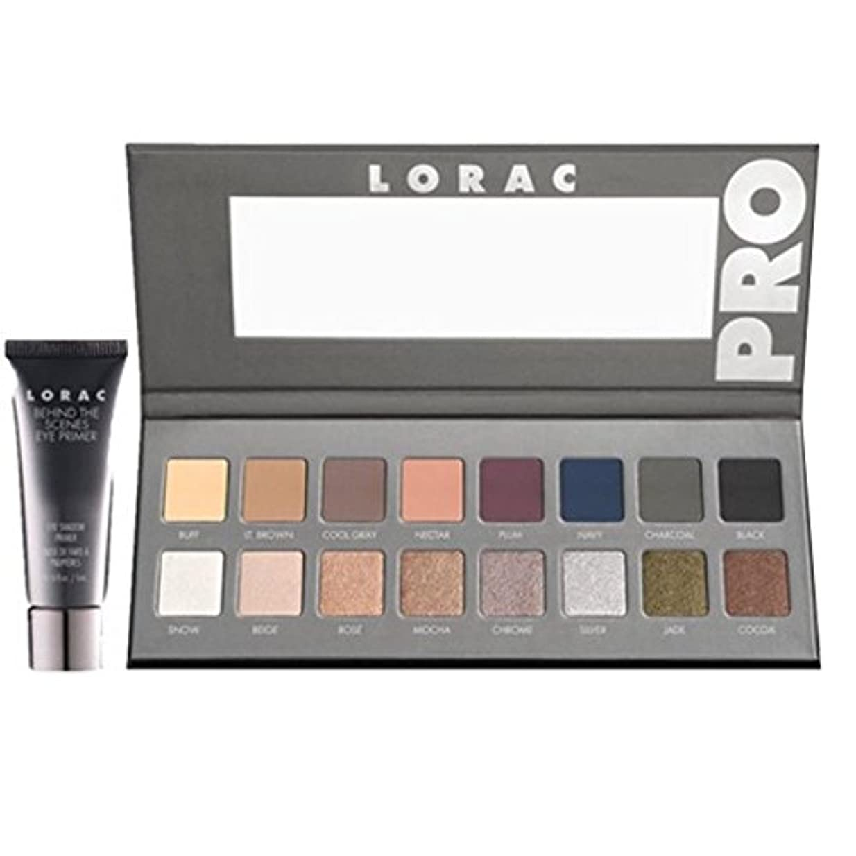 サンプル劇作家思春期のLORAC, 'PRO' Palette 2 /プロのアイメイク シャドウパレット16色 [並行輸入品] [海外直送品]