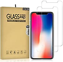 iPhone XR/iPhone 11 Screen Protector, iPhone 11 Screen Protector, 2-Pack Temper Glass Screen Protector for iPhone XR 9H...