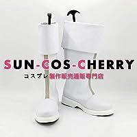【サイズ選択可】コスプレ靴 ブーツ K-2202 僕のヒーローアカデミア 轟焦凍 とどろきしょうと ショート 女性24.5CM