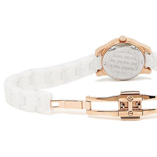 (フォリフォリ) FOLLI FOLLIE フォリフォリ 時計 FOLLI FOLLIE WF2R028BSS-XX MINI CERAMIC レディース腕時計ウォッチ ピンクゴールド/ホワイト [並行輸入品]