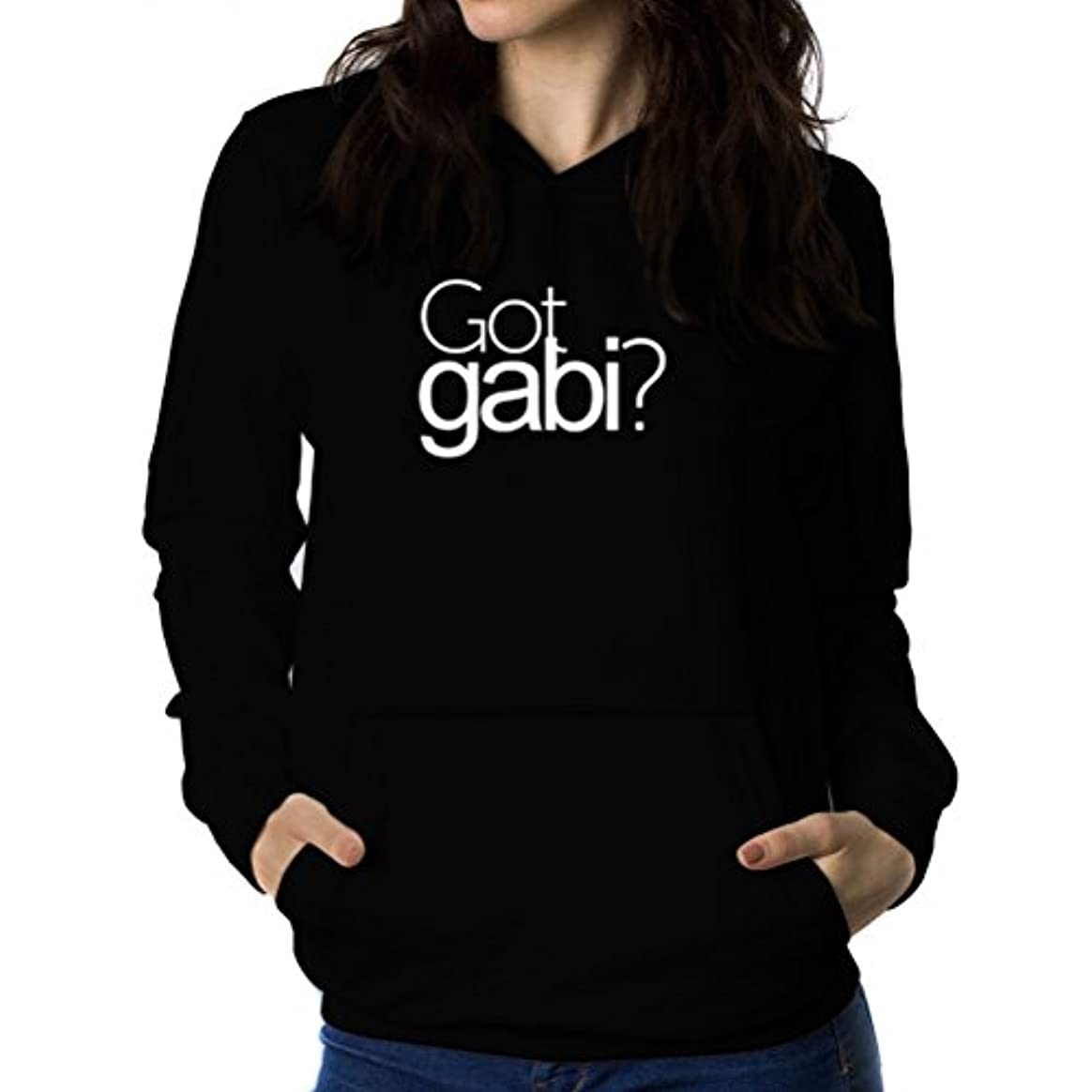 損なう乳白判決Got Gabi? 女性 フーディー