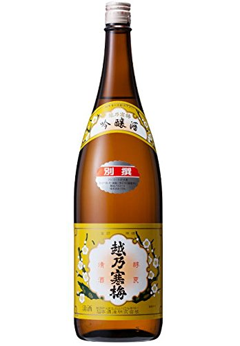 越乃寒梅 別撰 (吟醸酒) 1800ml