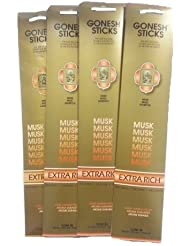 Gonesh Incense Sticks – ムスクLot of 4