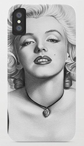 マリリン・モンロー iPhone 8/8plus Xケース society6 [並行輸入品] (iPhone 8, marilyn10)