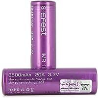 Efest IMR18650 20A 3500mAh リチウムマンガン電池 2本