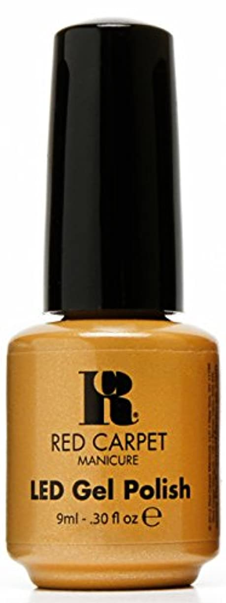 刺しますあいまいな合併症Red Carpet Manicure - LED Nail Gel Polish - Award Winning - 0.3oz / 9ml