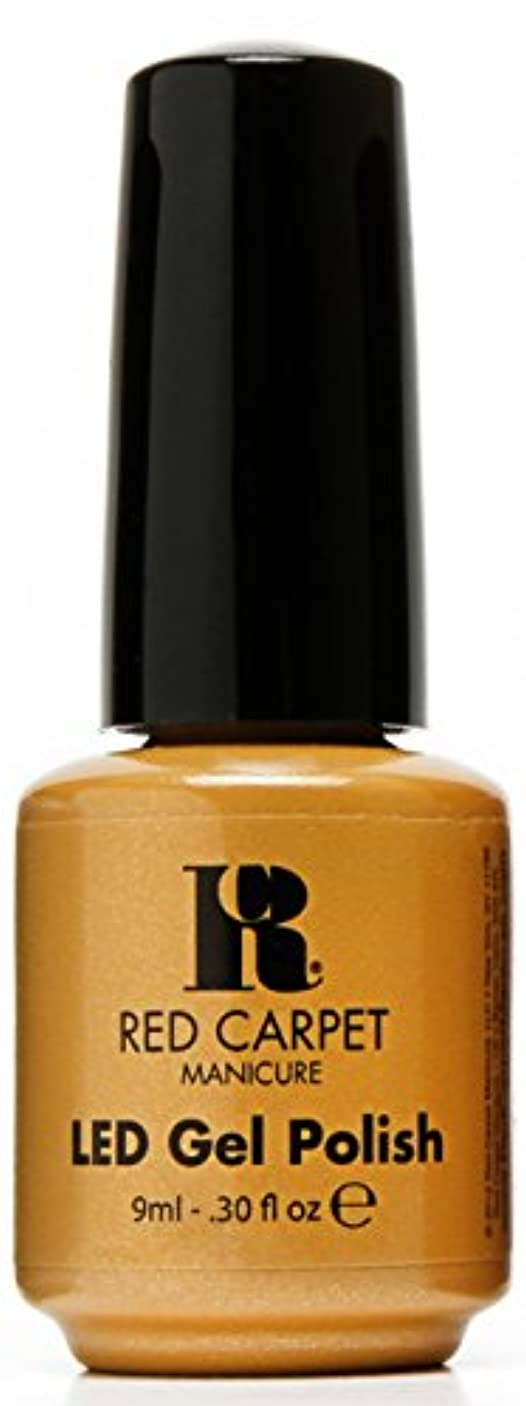 修復呼ぶ中にRed Carpet Manicure - LED Nail Gel Polish - Award Winning - 0.3oz / 9ml