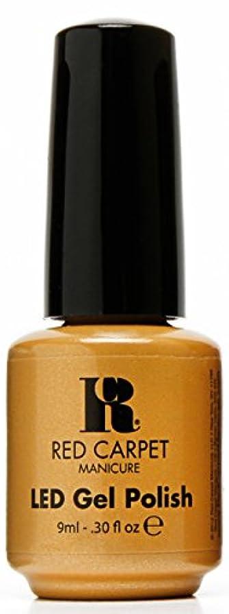背景パール豆腐Red Carpet Manicure - LED Nail Gel Polish - Award Winning - 0.3oz / 9ml