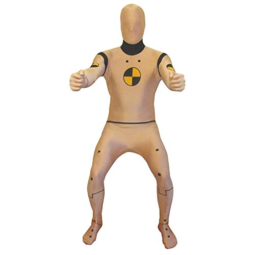 Crash Test Dummy Morphsuit Adult Costu...