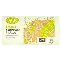 鳩ファーム生姜オート麦ビスケット200グラム (x 6) - Doves Farm Ginger Oat Biscuits 200g (Pack of 6) [並行輸入品]
