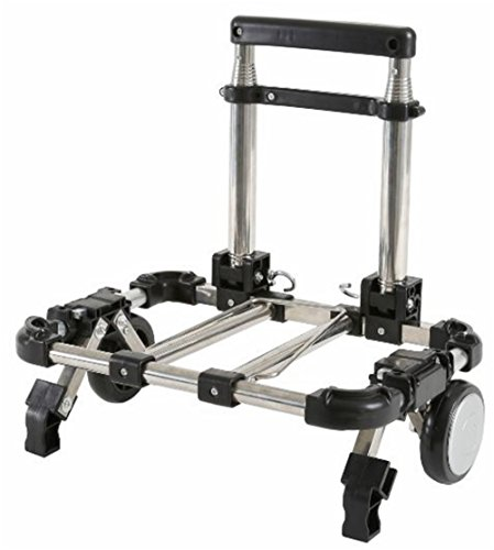 アララギ(ARARAGI) 超 コンパクト 折り畳み キャリーカート 改良型 (ブラック)