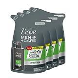 【Amazon.co.jp限定】 Dove MEN(ダヴメン) +ケア ボディウォッシュ エクストラフレッシュ 詰替え用 320g×4 おまけ付き