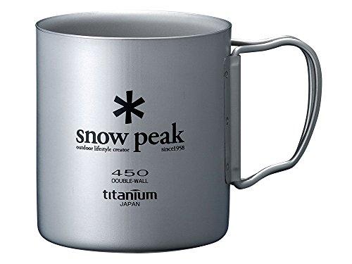 スノーピーク(snow peak) チタン ダブルマグ 450 [容量450ml] MG-053R