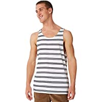 Swell Men's Expression Mens Singlet Cotton White