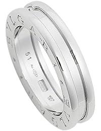 [ブルガリ] 指輪 リング BVLGARI RWG1BAND AN852423 ビーゼロワン ワンバンド レディース ホワイトゴールド