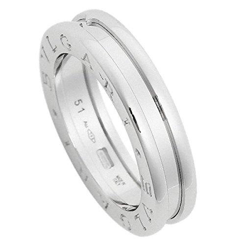 3c216c69add8 [ブルガリ] 指輪 リング BVLGARI RWG1BAND AN852423 ビーゼロワン ワンバンド メンズ レディース ホワイトゴールド  [並行輸入品] 49(約10号) BVLGARI ブルガリの ...