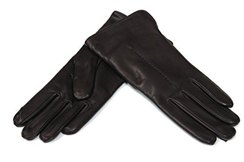 MEROLA レディース手袋 ナパレザー(カシミア) (7.5...