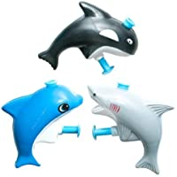 Sea Mammal Water Guns - 12 per unit [並行輸入品]