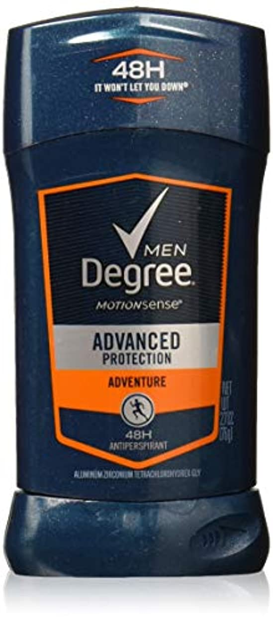 チャンピオンレイアコールドDegree Men Adrenaline Series Adventure Invisible Stick Deodorant 2.7 oz by Degree