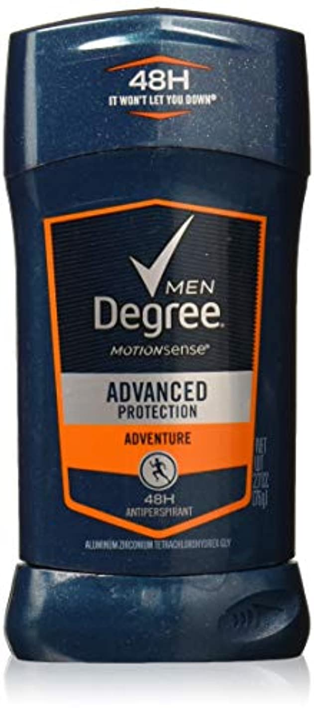 入射カラス豊かなDegree Men Adrenaline Series Adventure Invisible Stick Deodorant 2.7 oz by Degree