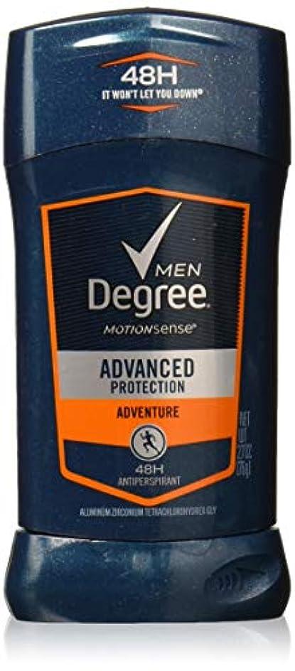 調整ツール苛性Degree Men Adrenaline Series Adventure Invisible Stick Deodorant 2.7 oz by Degree