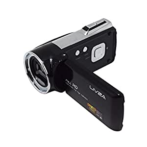 デジタルビデオカメラ(LIV-SCDV)フルHD デジタルムービーカメラ 500万画素 パノラマ HDMI対応 FULL HD 2.7インチ TFTカラー液晶 イベント 運動会 行事 録画 顔検出 笑顔検出 [LIVZA] LIV-VR01