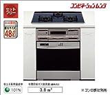 大阪ガス ガスオーブンレンジビルトインタイプ コンビネーションレンジ114-D514 [ガス種:都市ガス(13A)]