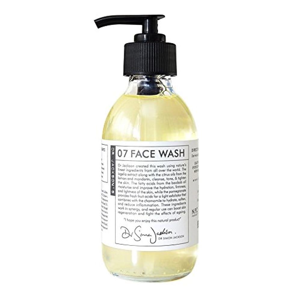 記者バルクすごいDr Jackson's 07 Face Wash 200ml (Pack of 6) - ジャクソンの07洗顔ジェル200 x6 [並行輸入品]