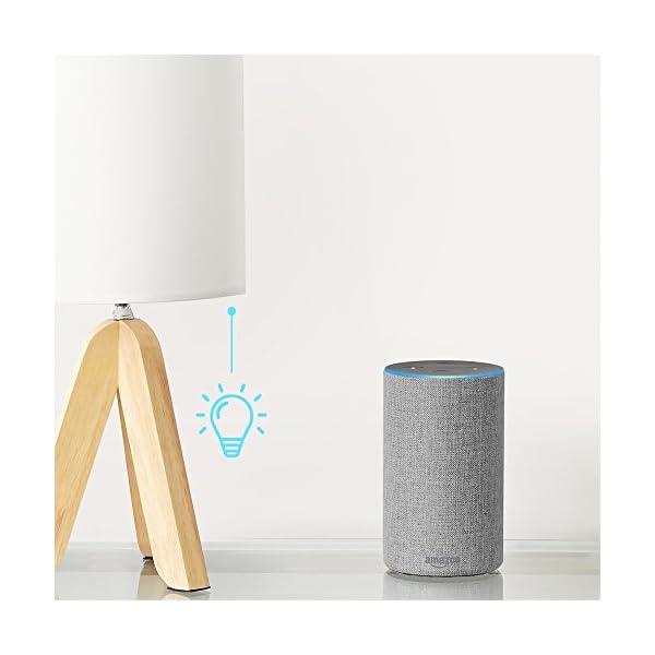 Amazon Echo、ヘザーグレー (ファブ...の紹介画像6