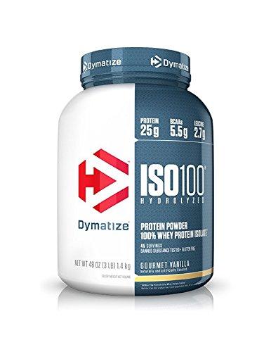 DYMATIZE NUTRITION社 ISO-100 グルメバニラ 3ポンド