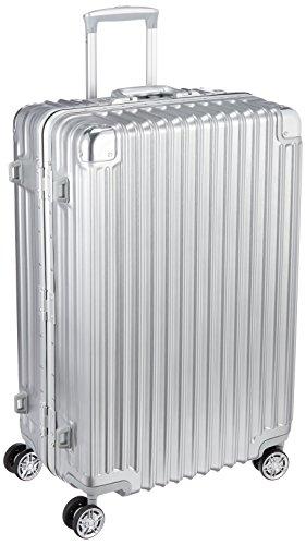 [トライデント] スーツケース ハードフレームケース アルミ調 シフレ 1年保証 保証付 92L 67cm 5.6kg TRI1030-67 シルバー シルバー