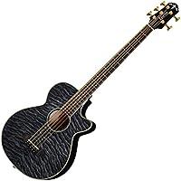 Crafter クラフター エレアコ5弦ベース キルトメイプルトップ シースルーブラック BA-580EQ-5 TBK