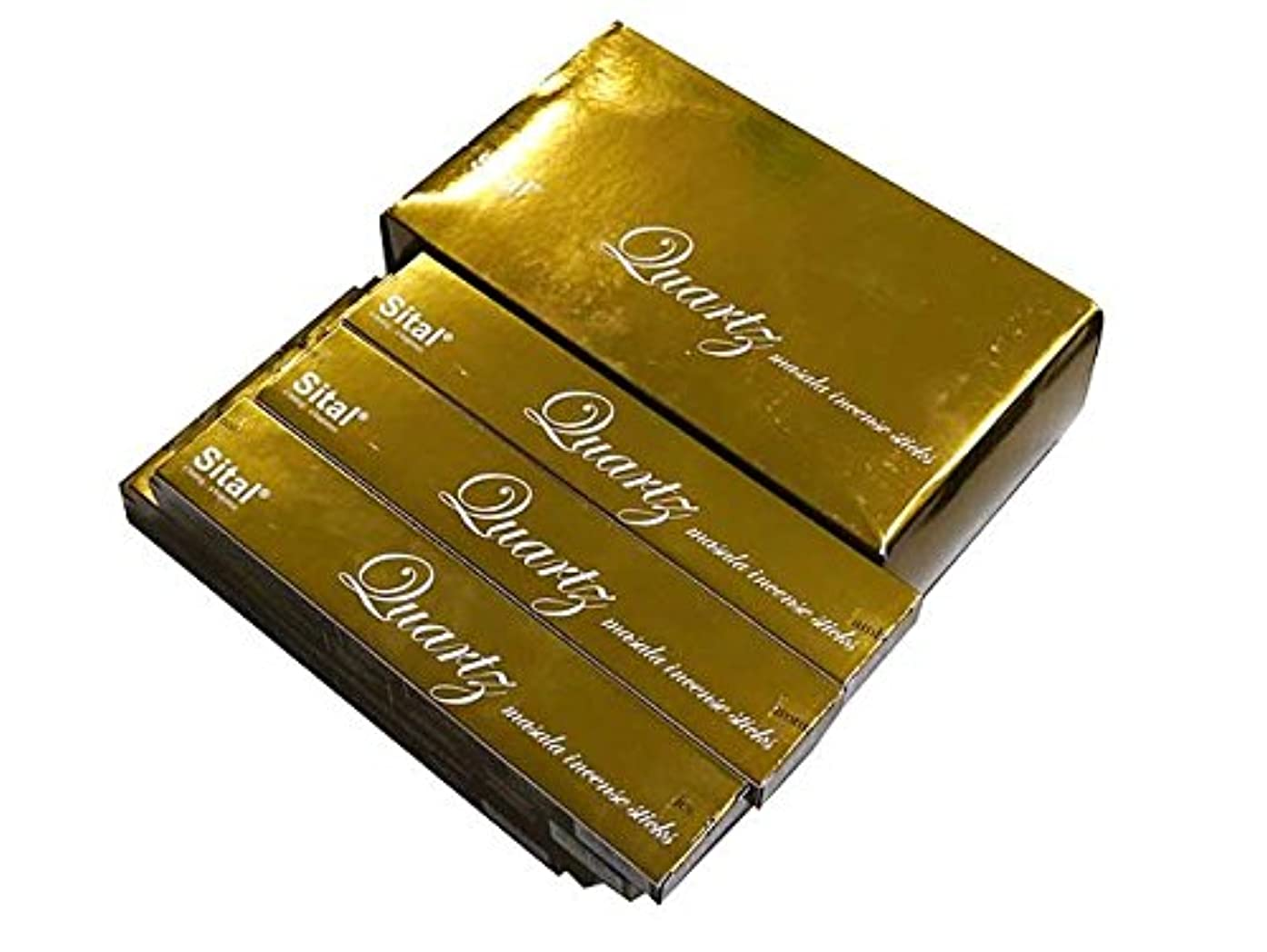 ショッピングセンター付けるマオリSITAL(シタル) シタル プレミアムマサラ クォーツ香 スティック QUARTZ 12箱セット